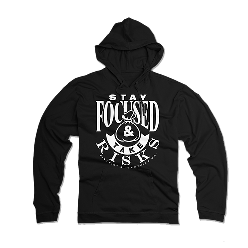 "T. Villa x District 81 collab ""Stay Focused & Take Risk"" Hoodie"