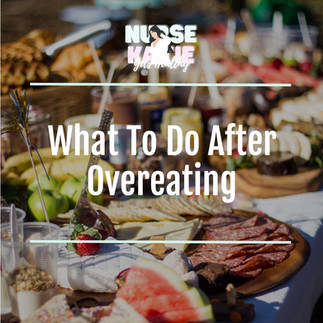 What to do After Overeating