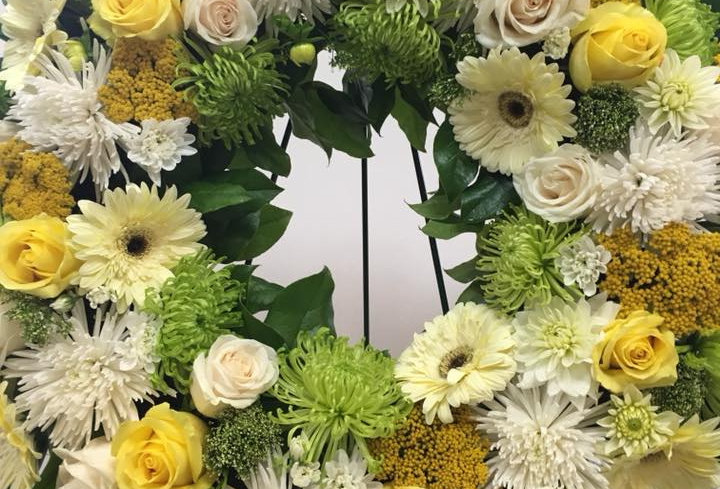 You Will Be Missed Wreath