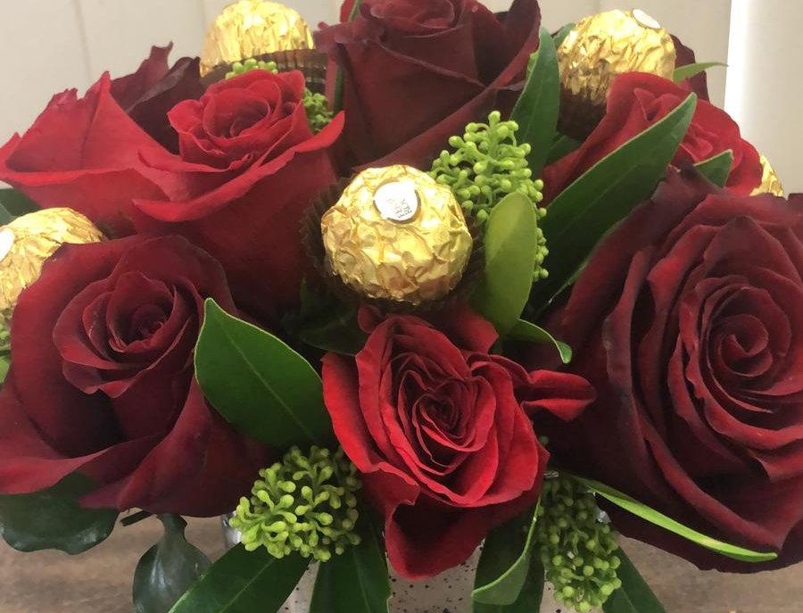 Roses & Ferrero Rocher