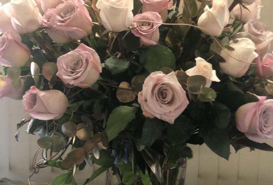 50 Roses in A Vase