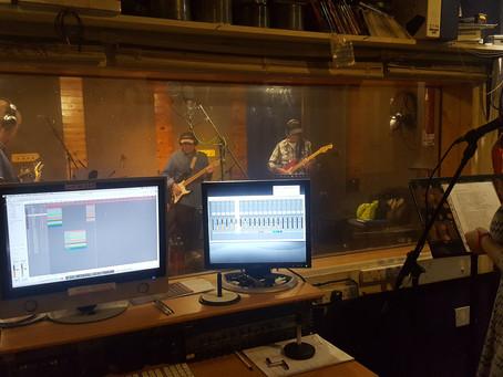 Jukebox recording session at Mill Hill studios in November 2018