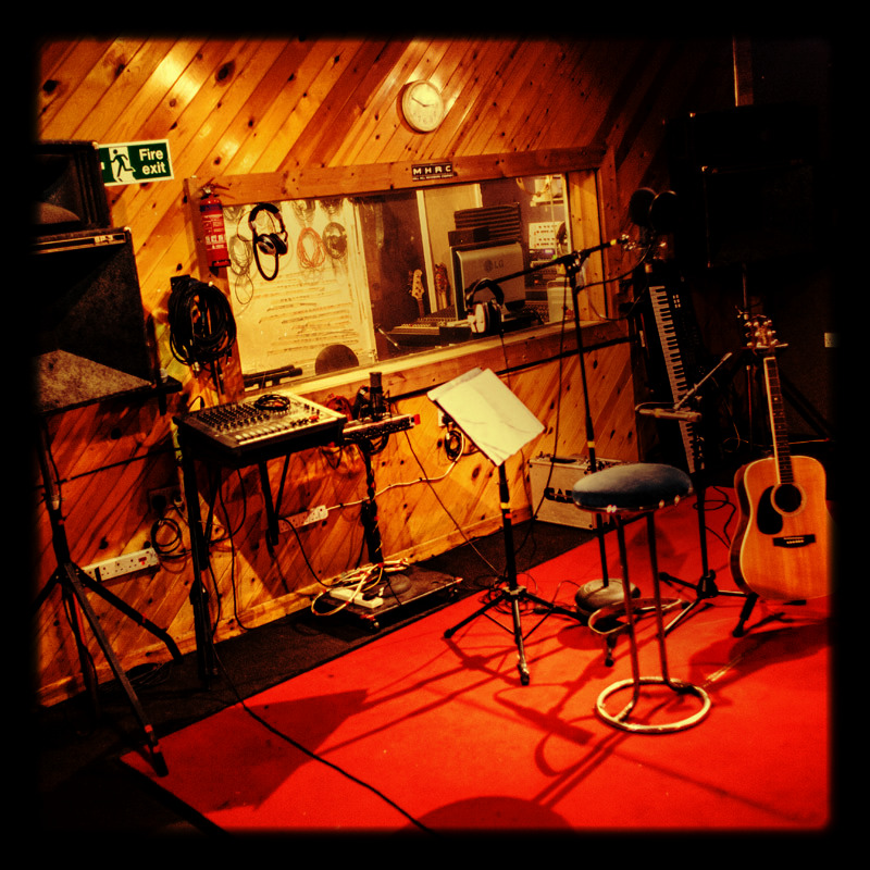 Mill Hill studios, live room