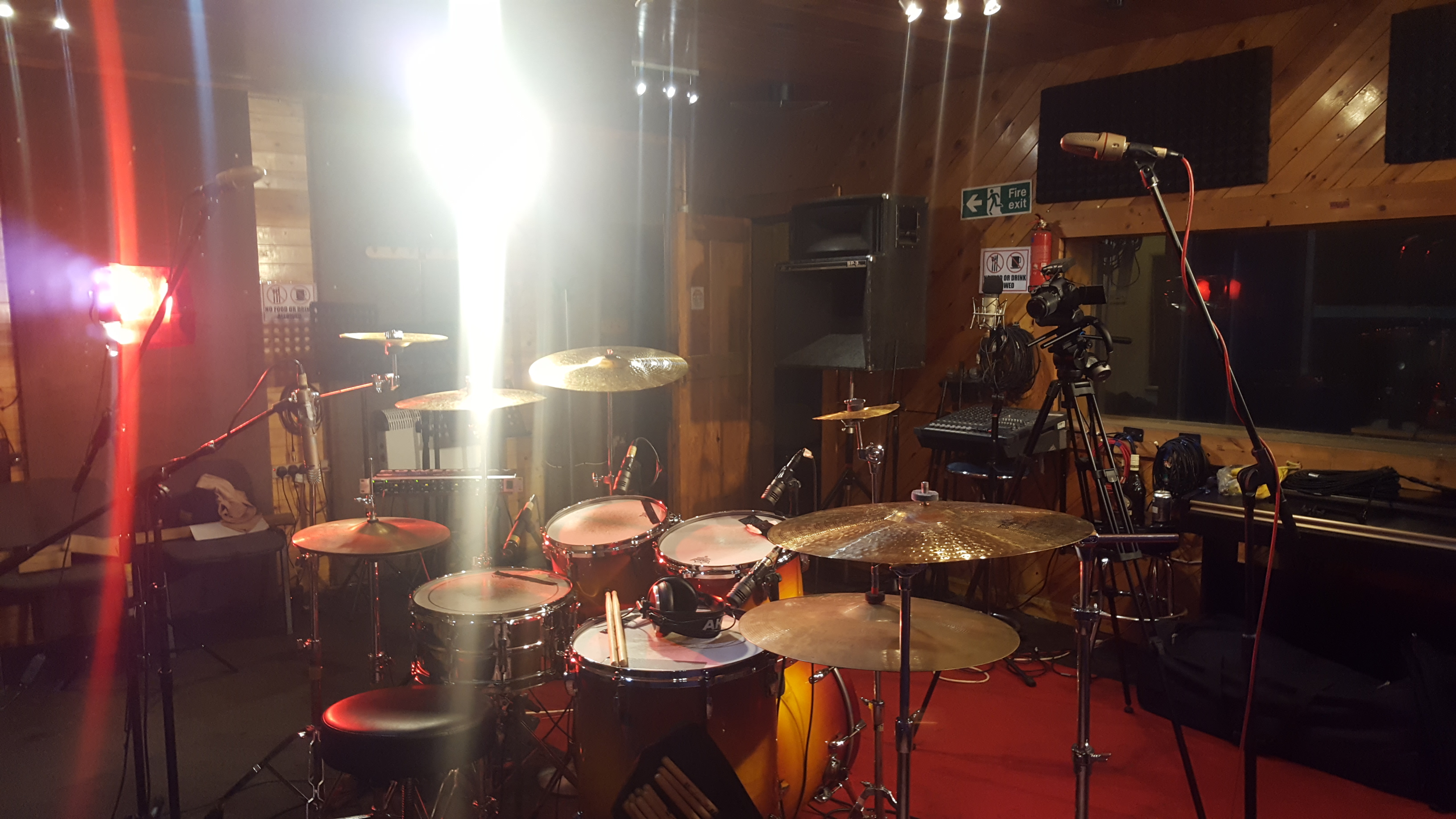 Drums on the go again!