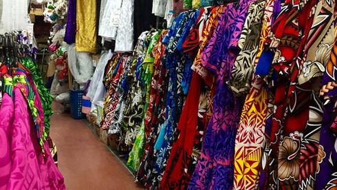 Printed Muumuu dress