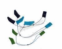 Фиксатор заушного слухового аппарата тканевой