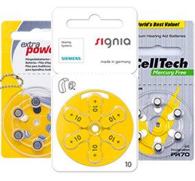Пробные микс наборы для слуховых аппаратов № 10 (PR 70)