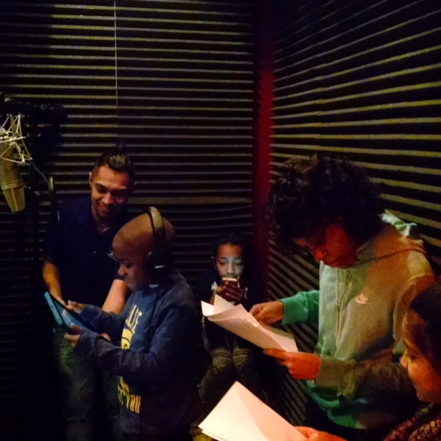 Recording the Audio book
