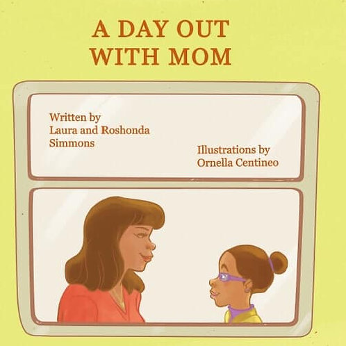 A Day Out with Mom-paperback