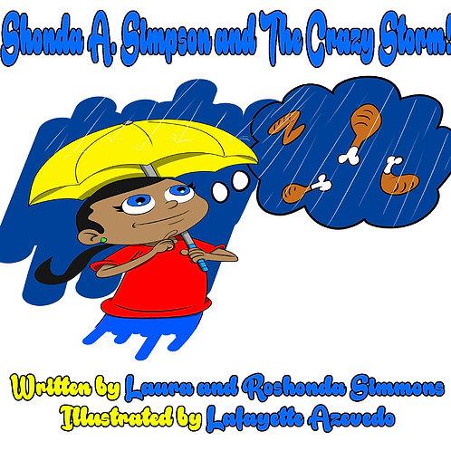 Shonda A Simpson & The Crazy Storm (paperback)