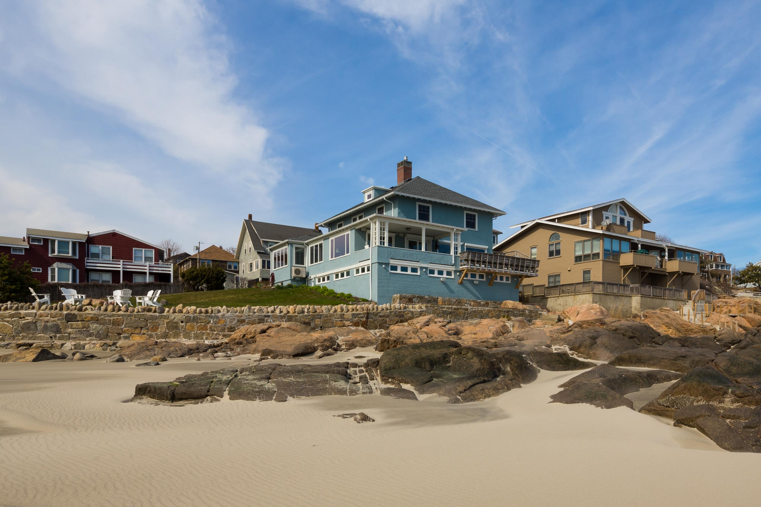 Gloucester Beach House exterior view