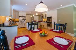 Breakfast area off of Kitchen