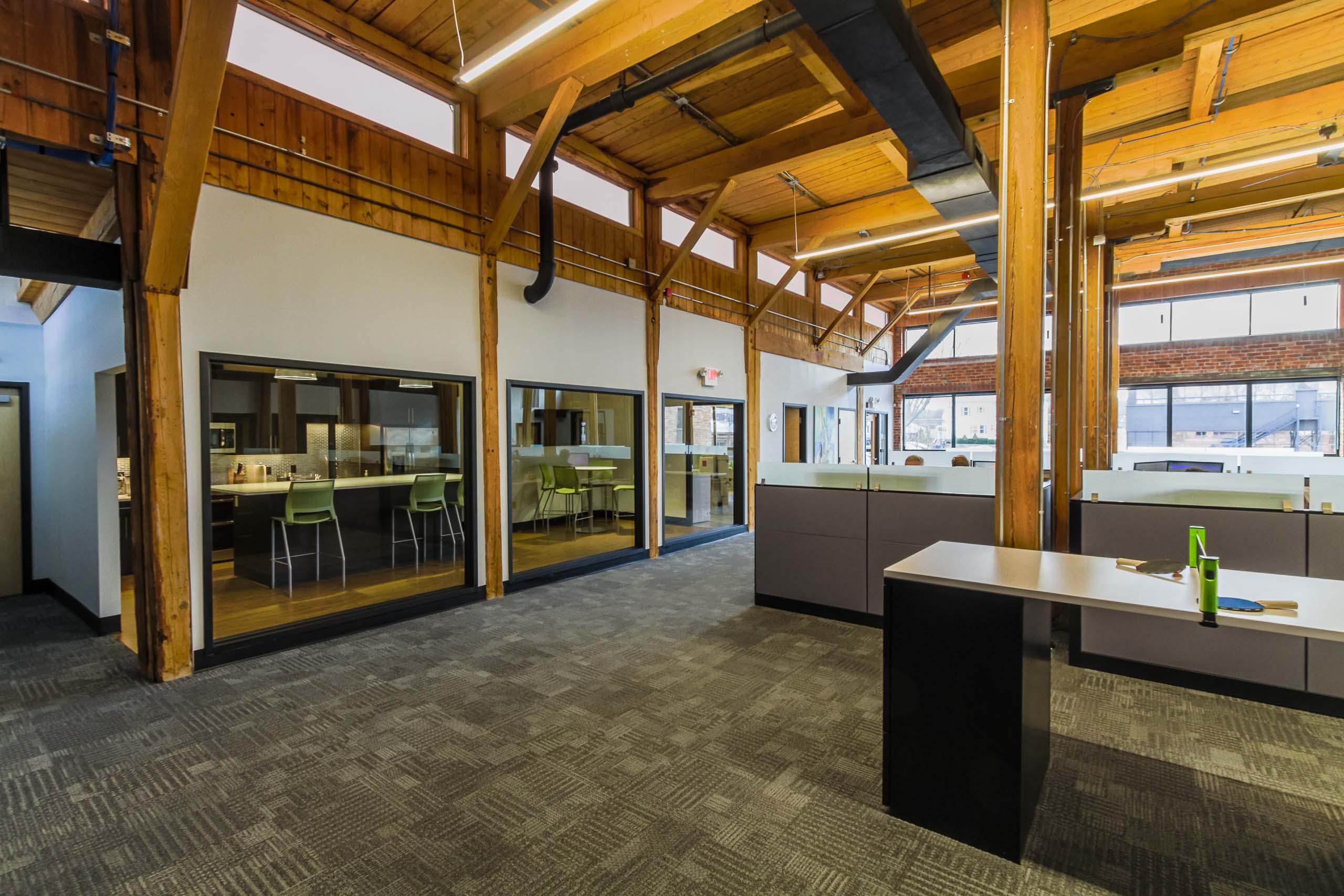 Sinco Open Office area.