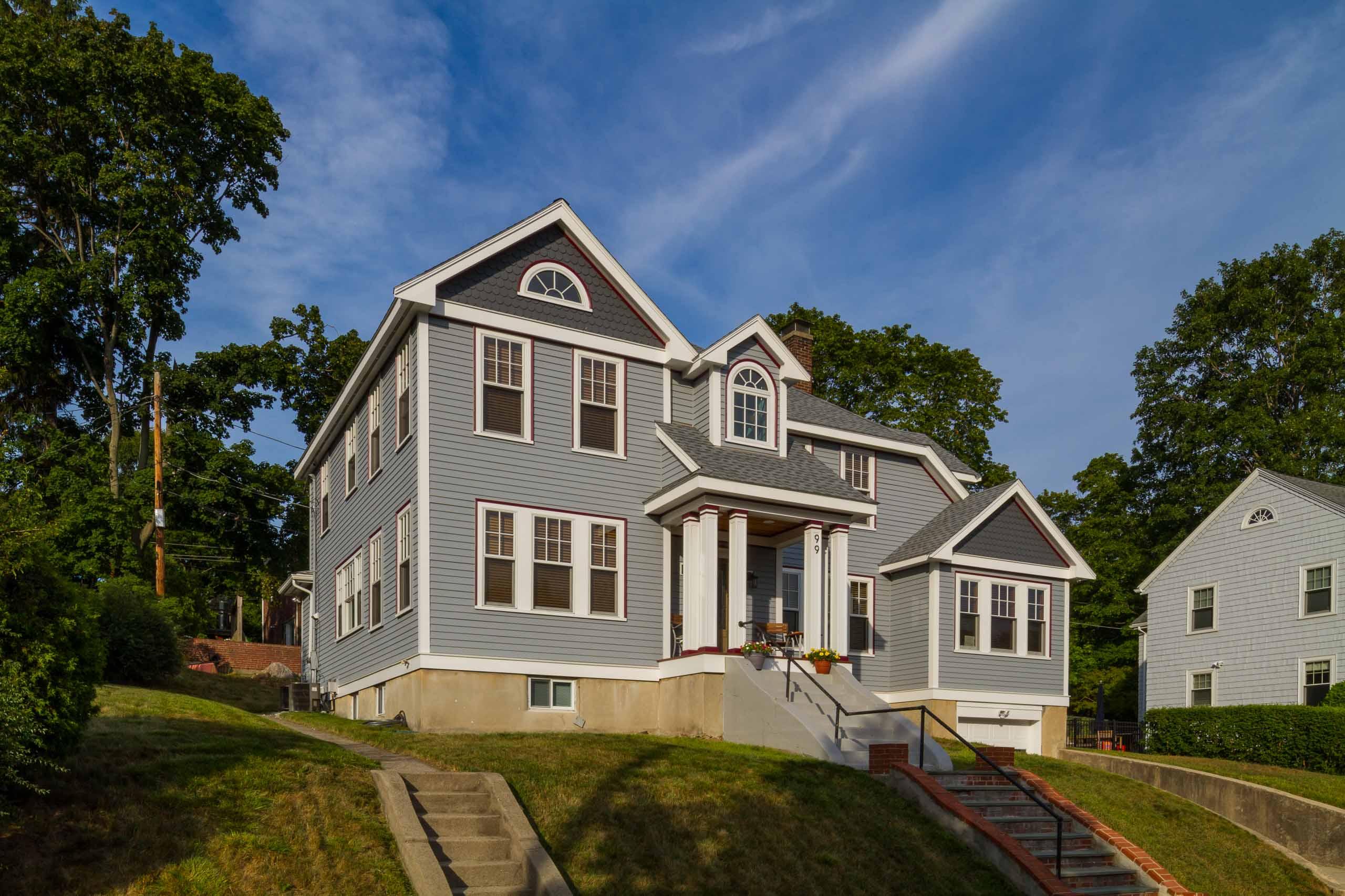 Medford Colonial Renovation exterior