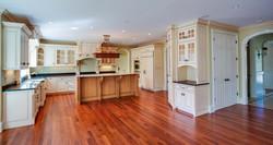 Wellesley colonial kitchen hardwood