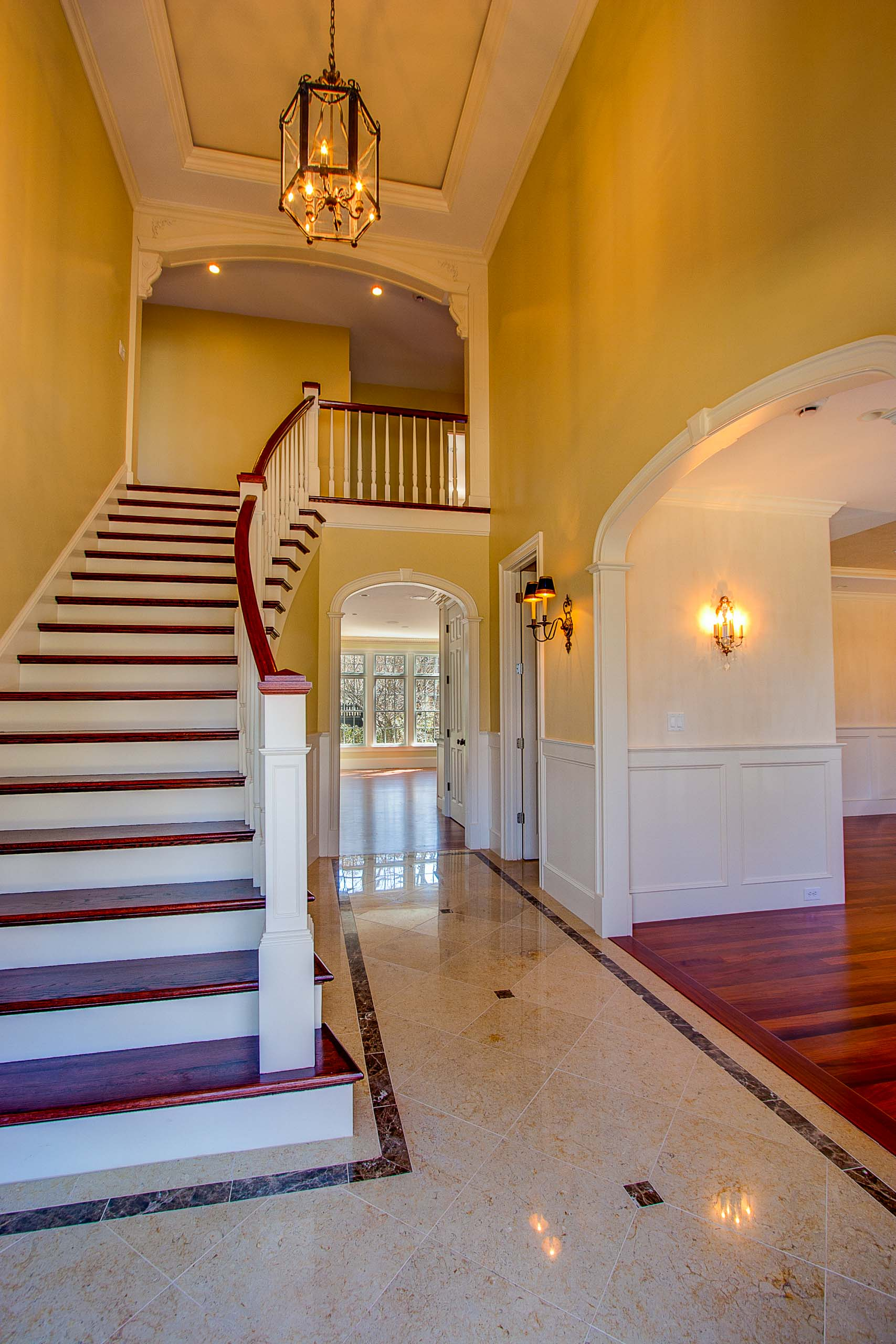 Wellesley Colonial Entry stair