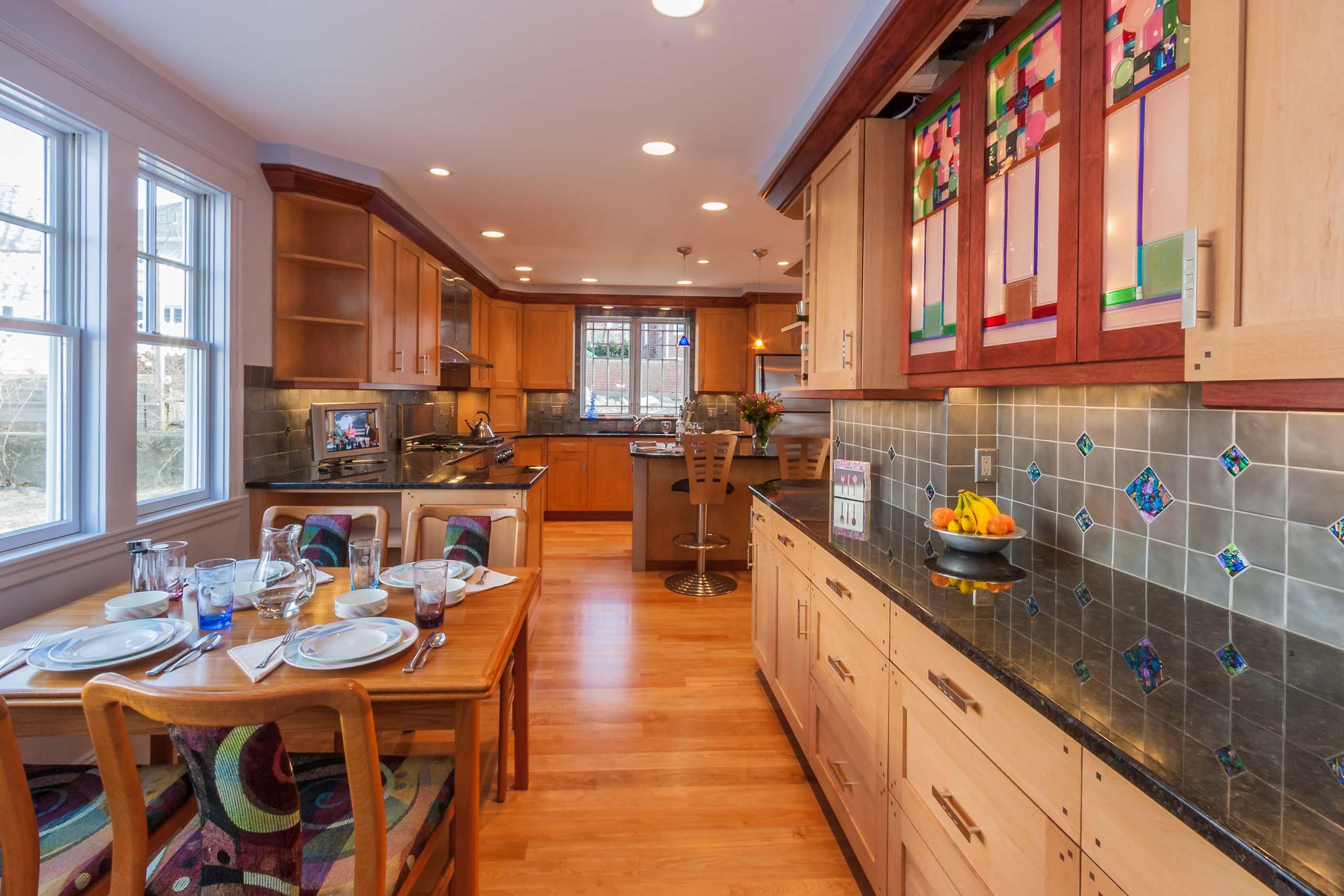Medford Colonial Renovation Kitchen