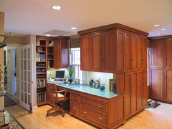 Built-in Office area