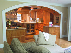 Kitchen and Family Room Swap