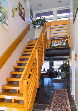 Open Entry Stair
