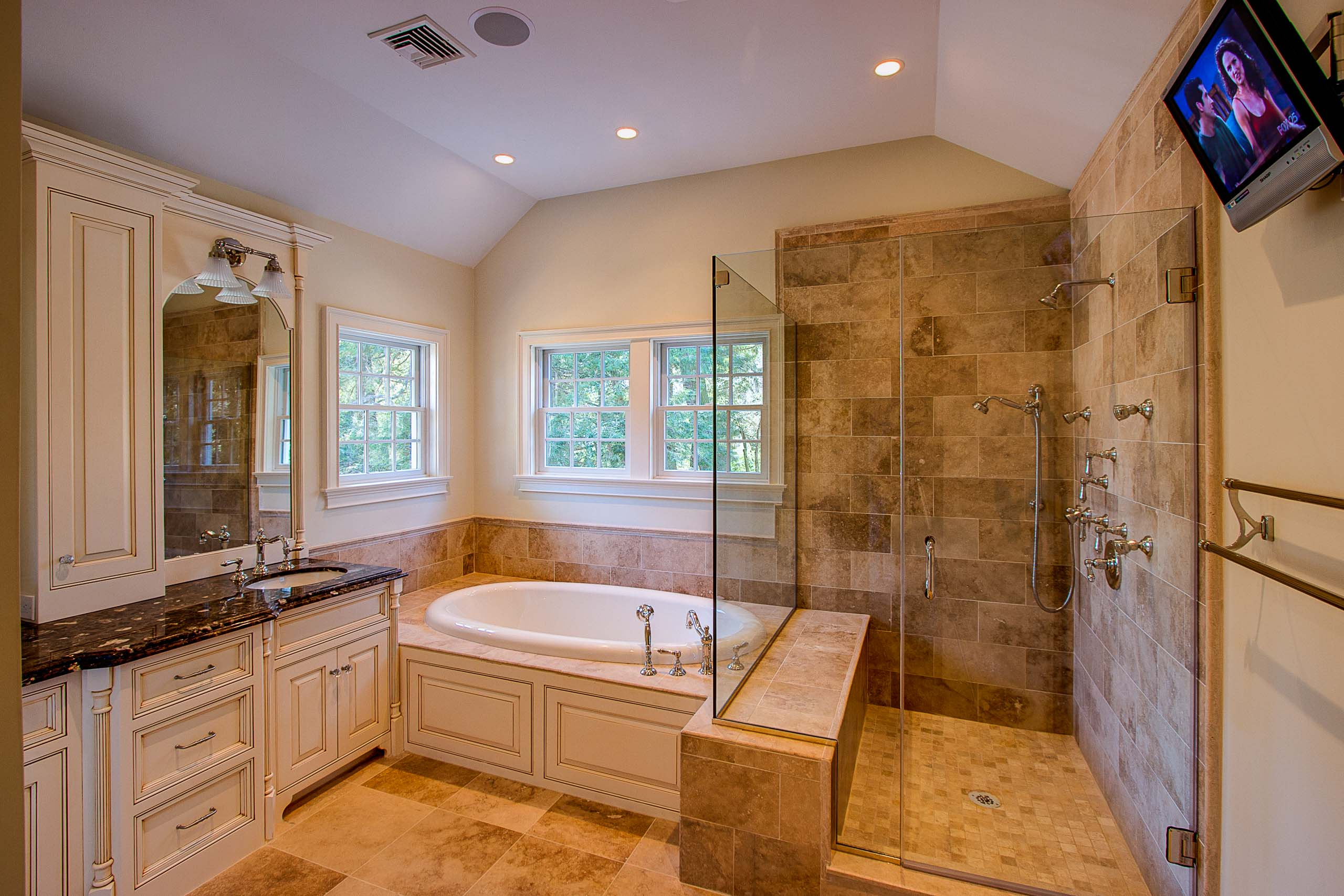 Wellesley colonial master bath