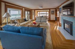 Gloucester Beach House living  room