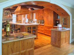 Custom Archway into Kitchen