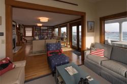 Gloucester Beach House Family Room