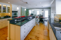 Farmhouse kitchen addition