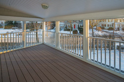 New Screened in Porch