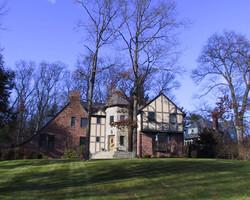 English Tudor front elevation