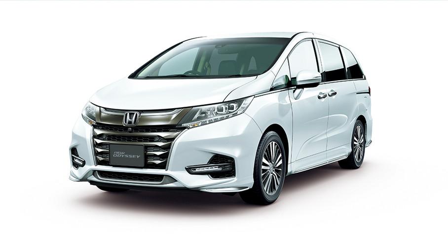 Honda Odyssey (Front)