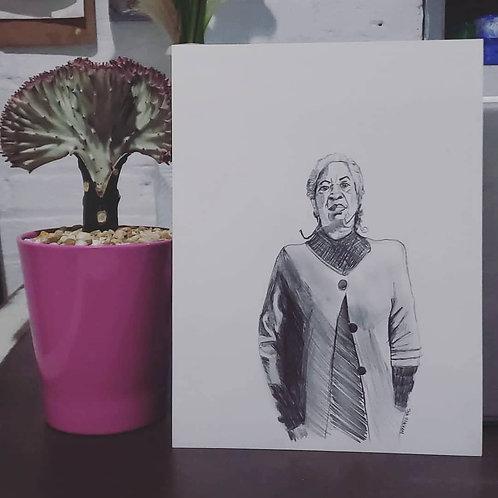 Toni Sketch (Original)