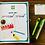 Thumbnail: יומן תכנון למורה - להדפסה עצמית