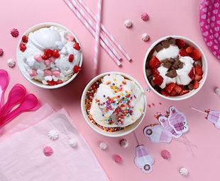 Birthday Party with Ice Cream