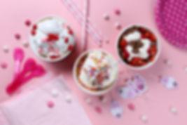 アイスクリームと誕生日パーティー