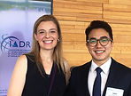 Jaden and Dr. Yilmaz in IADR meeting in