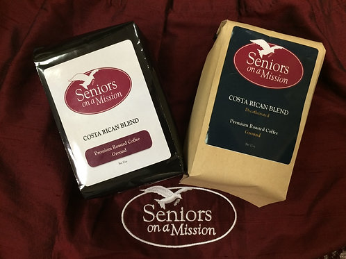 Premium Roasted Costa Rican Blend Coffee (bag)
