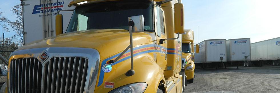 Emerson Express Trucks