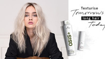 Texture for long hair OSIS dry texture and dry conditioner dry powder