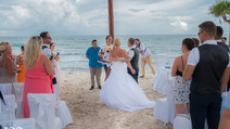 Fairytale wedding in CanCun Mexico