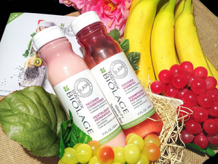 Introducing new Matrix RAW organic shampoo and  conditioner