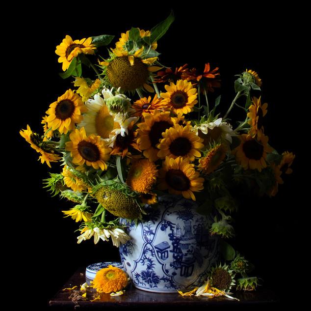 Vanitas with Sunflowers 1919