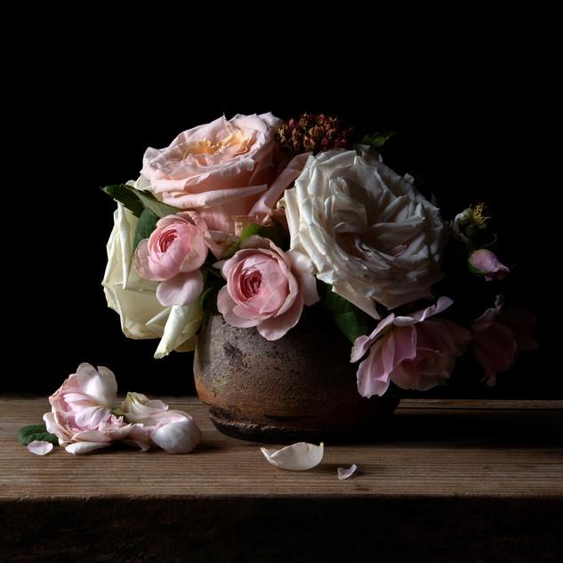 Vanitas with Roses 1224