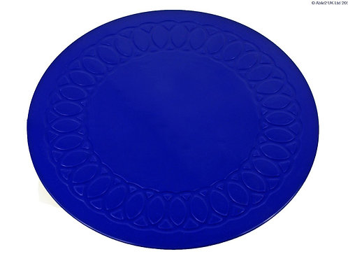 Anti Slip Coaster 19 cm Diameter - Blue
