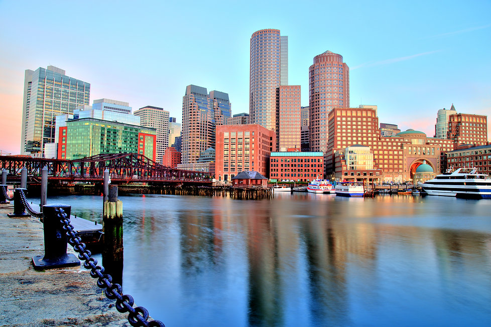 The Boston Skyline during the day.