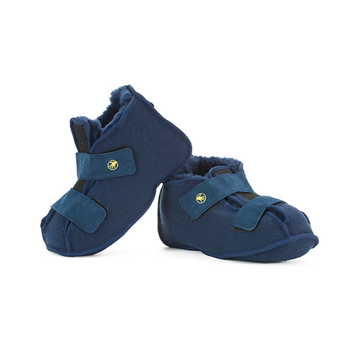 slippers shear comfort soft sole