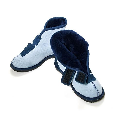 Diabetic feet boot pressure relief