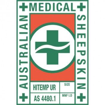 Sheepskin pressure relief