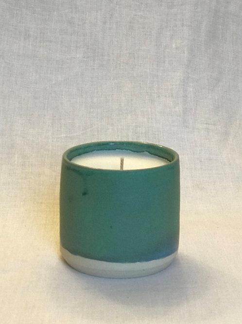 Jade Green Candle | Vanilla Citrus